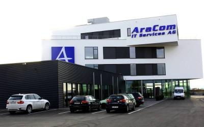 AraCom IT Services AG stellt energieeffizienten Neubau des Firmenhauptsitzes im Gersthofer Gewerbegebiet fertig