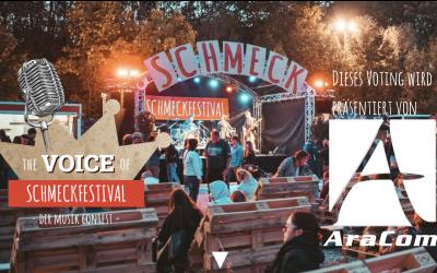 "AraCom präsentiert ""The Voice of Schmeckfestival"""