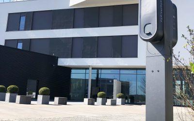 Green Innovation! E-Ladesäulen für Team und Kunden