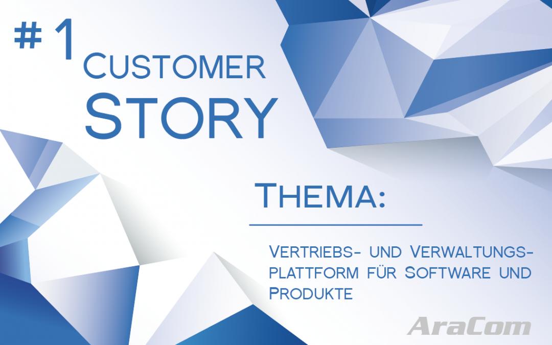 Customer Story: Vertriebs- und Verwaltungsplattform für Software und Produkte
