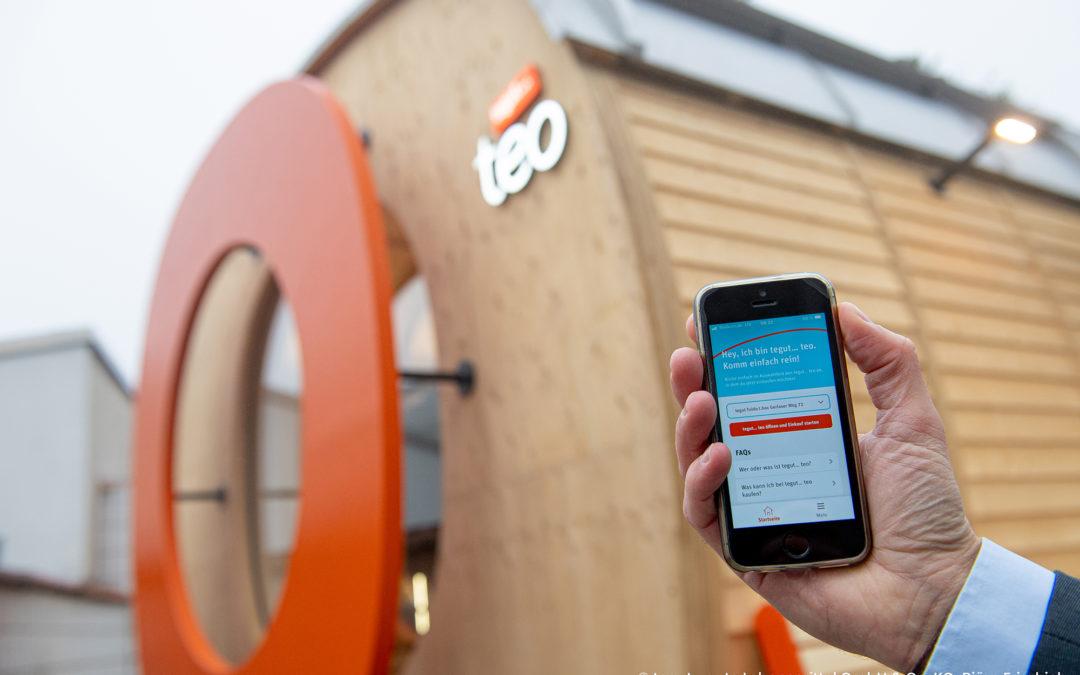 Die Supermarkt-Innovation: tegut…teo mit AraCom als IT-Partner